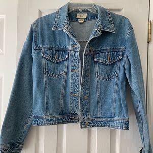 Cotton blue denim jacket